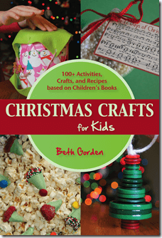 Christmas Crafts for Kids Book - his December, let us help you have fun and create special memories!  Christmas Crafts for kids is a book filled with lots of ideas and childrens Christmas crafts to do all the planning for you so that even the busiest families can squeeze in time to celebrate Christmas together. You will find engaging crafts, clever recipes, and fun activities for your whole family to enjoy