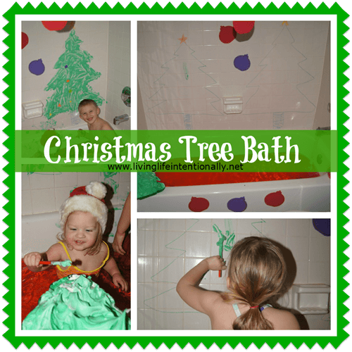Christmas Tree Bath