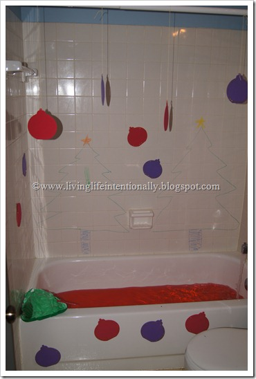Christmas Bath for Kids