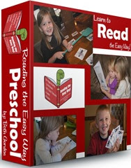 Reading Easy Way Preschool 12 week program with 6 games, color by sight word, readers, and m