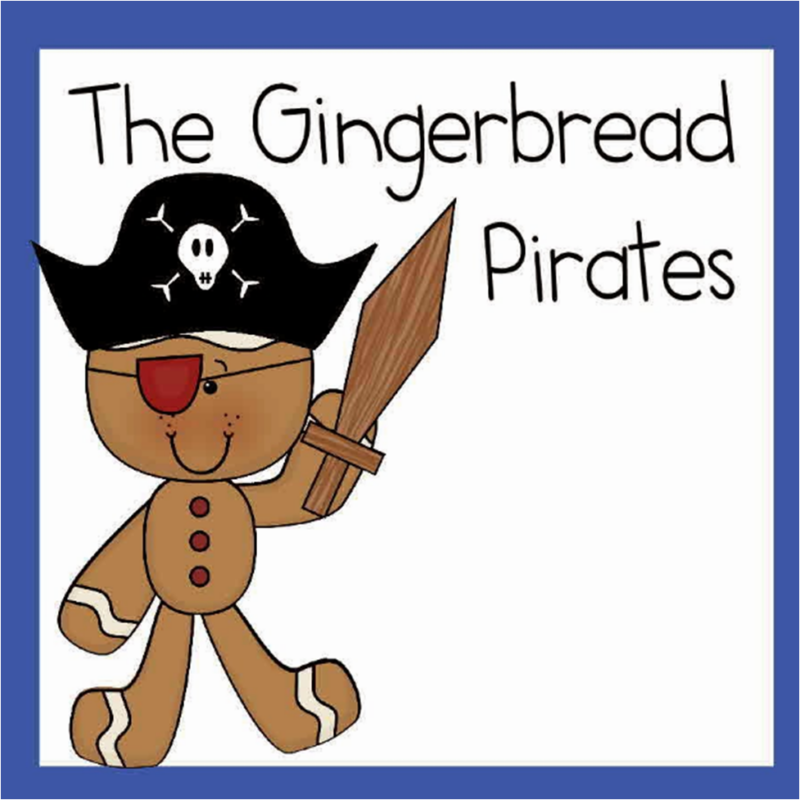 Gingerbread Pirates Worksheets