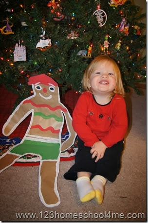 super cute gingerbread crafts perfect for the gingerbread man