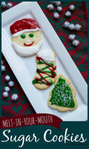 Best sugar cookie recipe for Christmas cookies in december