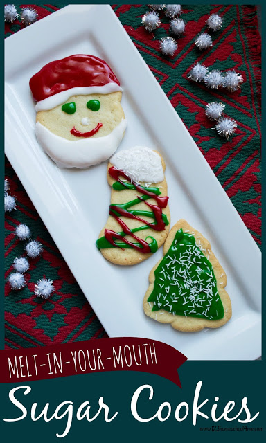 Thebest sugar cookie recipesare the absolute best cookie recipe you'll ever make. Theseeasy sugar cookies recipe will melt in your mouth! These are the perfect valentine's day sugar cookies, Christmas sugar cookie recipe, or everyday sugar cookie recipe for kids to cut out with their favorite cookie cutters and frost to their hearts content. These cookie taste even better than they look!