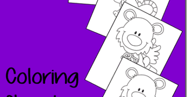 FREE Valentine's Day Coloring Sheets