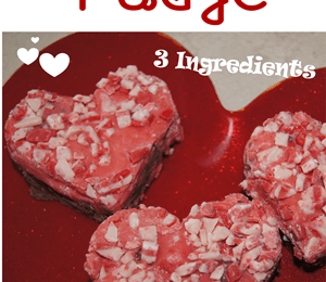 Easy Valentine Fudge Recipe