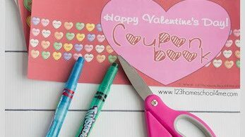 FREE Printable Valentines Day Coupons