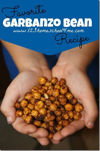 Super yummy, easy to make, healthy snack recipe that turns good-for-you garbanzo beans into your families favorite snack Such a yummy recipe to get some real food into your families diet #recipes #healthyrecipes #garbanzobeans