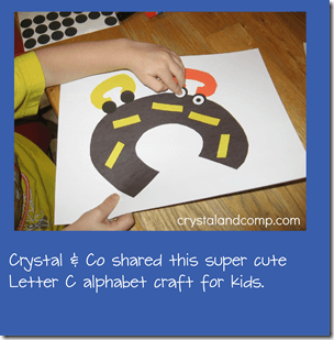 C is for Car Letter C Alphbet Craft for Toddler and Preschool