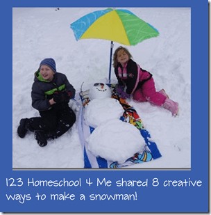 8 creative ways to make a snowman with pictures