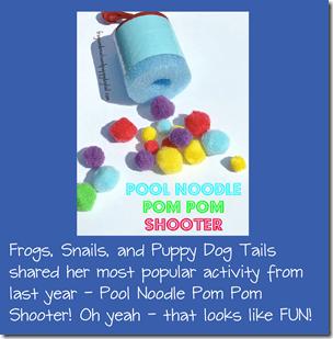 Pool Noodle Pom Pom Shooter