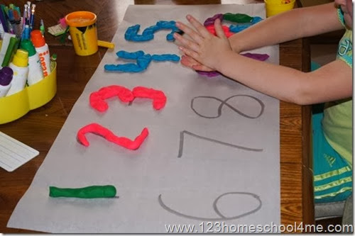 hands on Math for Preschool
