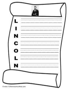 Abraham Lincoln Creative Writing Acrostic Poem