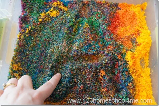 Tactile Letter Learning for Preschoolers with Homemade Sand