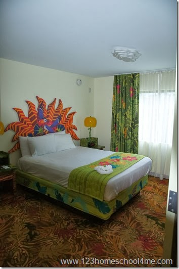 Master Bedroom - Disney Art of Animation Lion King Family Suite Review