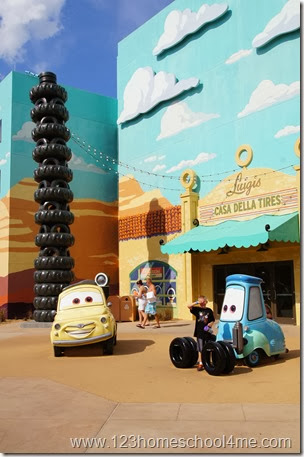 Cars Family Suite at Art of Animation in Disney World