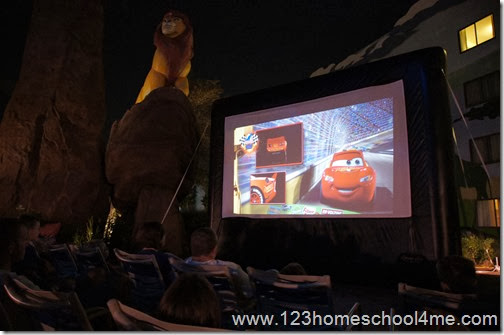Art of Animation  Movie Under the Stars