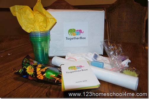 Together Box provides 3-4 FUN Family Activities