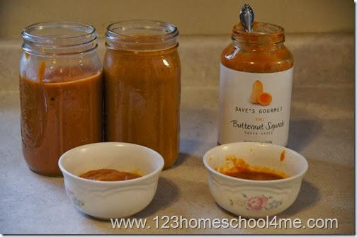 Dave's Gourmet Butternut Squash Pasta Sauce Copycat Recipe #recipes #copycatrecipe