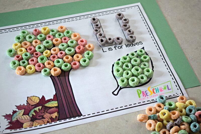 Fruit Loop Alphabet Mat