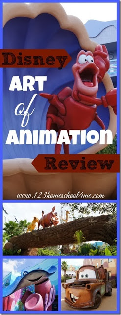 Art of Animation Disney Hotel Review - Everything you want to and need to know about Disney's Art of Animation!! Super thorough disney Hotels Review with lots of pictures, information, tips and tricks for planning your next disney family vacation