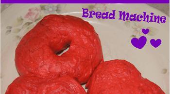 Valentine Heart Bagel Recipe