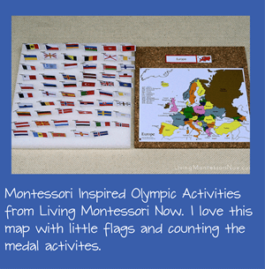 Montessori Olympic Activities for Kids