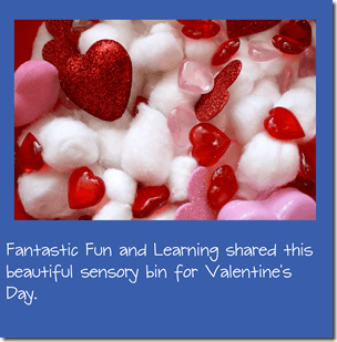 Valentines day Sensory Bin