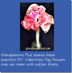 Valentines Day FLower Craft for Kids