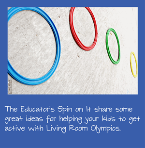 Living Room Olympics Kids Activiites