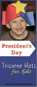 tricorn presidents day hat