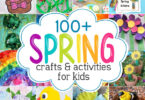 Get inspired with over 130 creative and fun activities and spring crafts for kids. We have found the BEST spring craft ideas for kids of all ages from toddler, preschool, pre-k, kindergarten, first grade, and 2nd graders too! From pretty flowers, umbrellas, butterflies, rainbows, and more - these spring activities for kids are sure to be a hit with your kids. We have ideas for spring math, liteacy spring science experiments, clever spring snacks, and of course FREE spring printables!