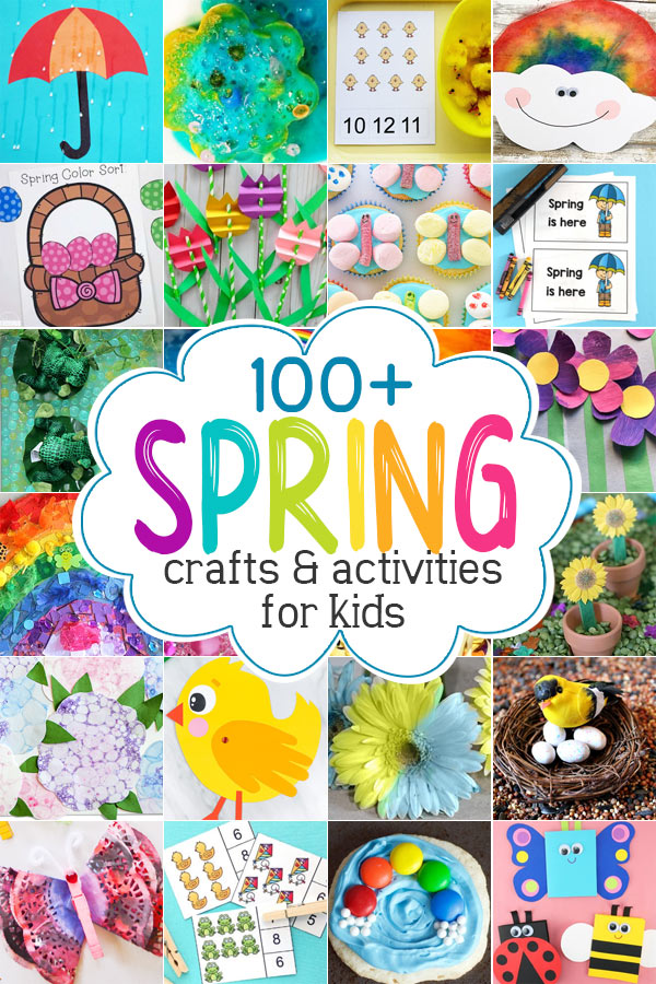 Get inspired with over 130 creative and fun activities and spring crafts for kids.We have found the BESTspring craft ideas for kids of all ages from toddler, preschool, pre-k, kindergarten, first grade, and 2nd graders too! From pretty flowers, umbrellas, butterflies, rainbows, and more - thesespring activities for kids are sure to be a hit with your kids. We have ideas forspring math, liteacyspring science experiments, clever spring snacks, and of course FREE spring printables!