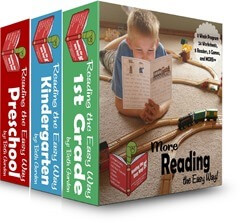 Reading the Easy Way Preschool, Kindergarten, 1st Grade
