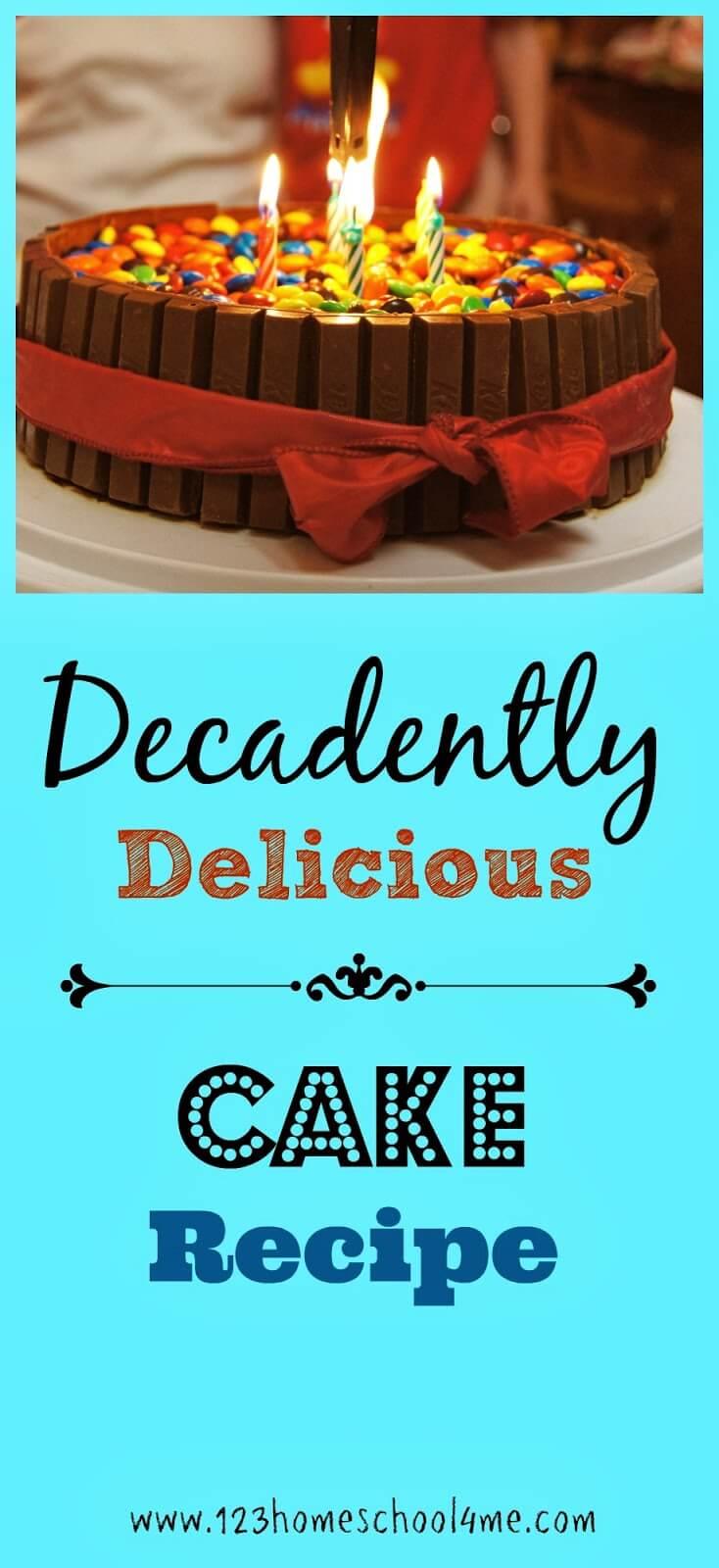 Best Chocolate cake EVER! #recipes #chocolate