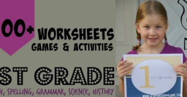 FREE 1st Grade Worksheets