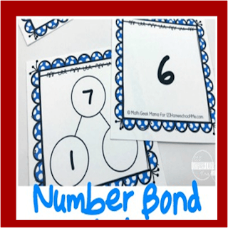 number bonds activity