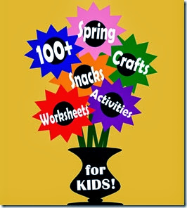 100 Spring Crafts for Kids and Spring Kids Activities