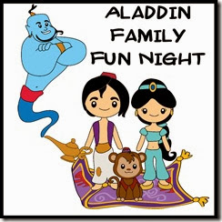 Disney Aladdin Family Fun Night