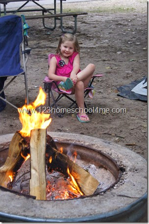 Making Memories with Your Kids while Camping