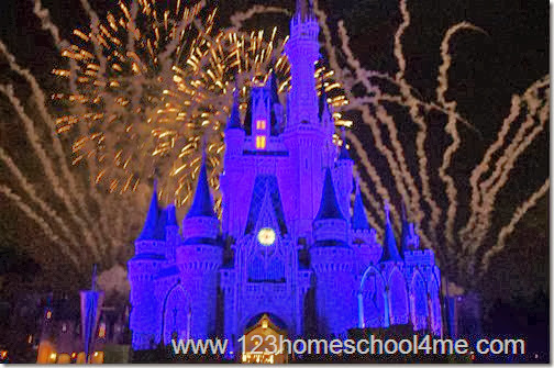 Wishes Nighttime Spectacular Fireworks is an amazing show at Magic Kingdom