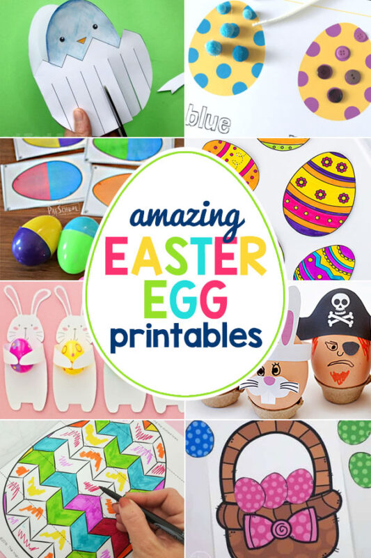 Free Easter Egg Printables