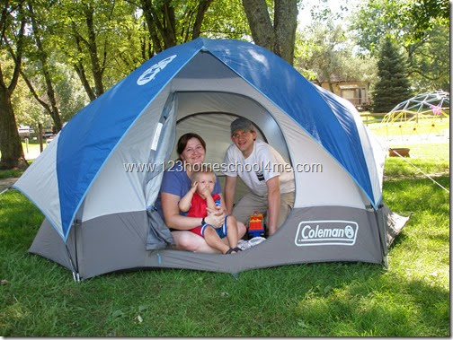 Tipsf or your Families first camping trip