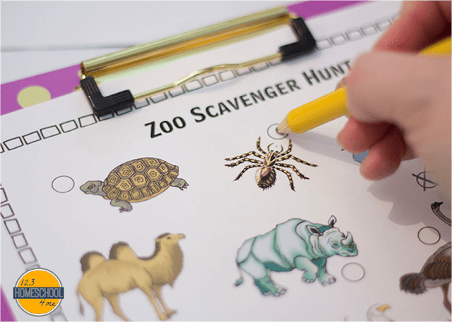 image regarding Zoo Scavenger Hunt Printable named Absolutely free Zoo Scavenger Hunts (Baby - 6th Quality) 123