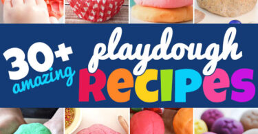 Are you looking for a the perfect playdough recipe?Here are the BEST homemade play dough! Edible to cooked play doh and more!
