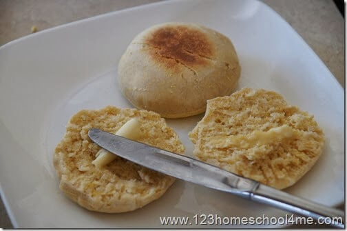 easy to make, delicious, and from scratch English Muffin Recipe