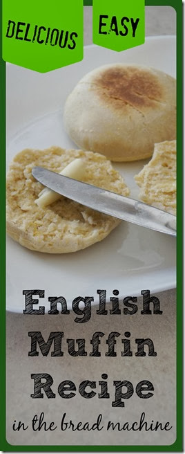 Craving a delicious English muffin, but don't have any on hand. Or perhaps you are looking for  homemade english muffins without all the preservatives in the store bough versions. Either way, we have a super EASY to make and DELICOIUS bread machine english muffin recipe your family will love! Get ready for your new go to breakfast recipe!
