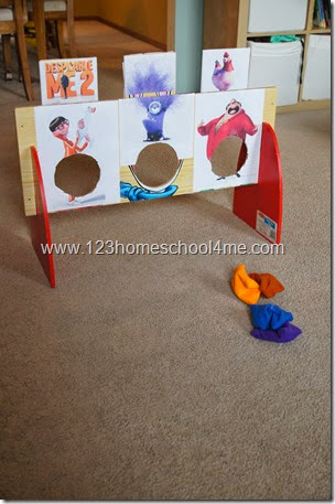 Despicable Me Games for Kids Partiies