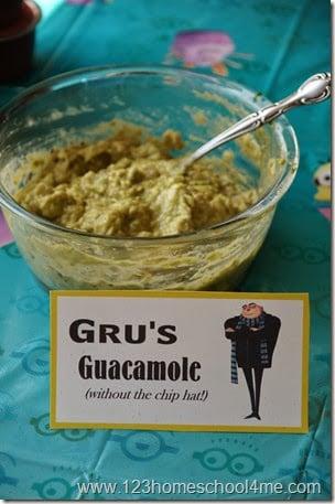 Gru's Guacamole