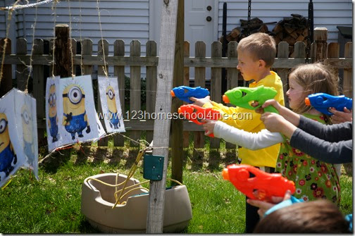 Despicable Me Water Water Gun game